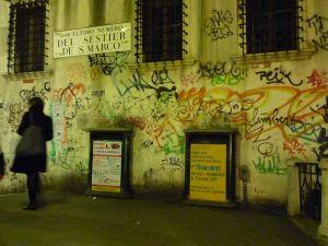 Venezia—Full moon aqua alta